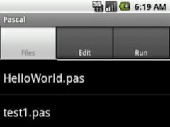 Pascal 0.6 Screenshot