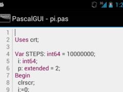PascalGUI (Pascal compiler)  Screenshot