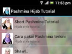 Pashmina Hijab Tutorial 1.0 Screenshot