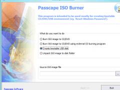 Passcape ISO Burner 1.3.0 Screenshot