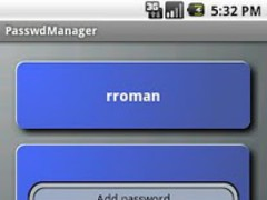 PasswdManager 1.5.2 Screenshot