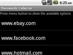 Passwords Collector 1.1 Screenshot