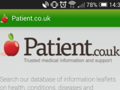 Patient.info 3.2 Screenshot