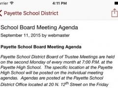Payette School District #371 2.2.0 Screenshot