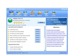 PC Brother System Care 1.5.1.20 Screenshot