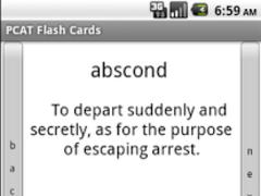 PCAT Vocabulary Flashcards 3.0 Screenshot