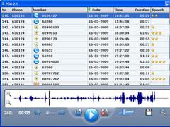 PCM-2 USB Phone Recorder 2.1 Screenshot