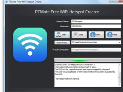 PCMate Free WiFi Hotspot Creator 7 0 9 Free Download