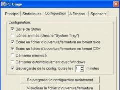 PCUsage 2.31 Screenshot