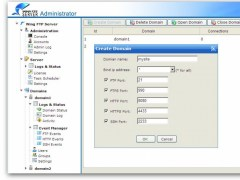 Wing FTP Server For Linux 4.9.0 Screenshot