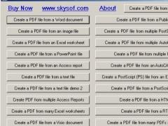 PDF Create .NET 2.4.1 Screenshot