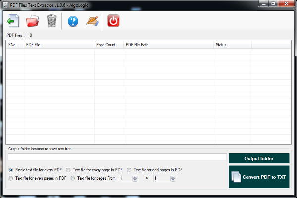 Pdf Files Text Extractor 1 0 6 Free Download