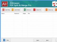 Pdf Merge Split Pro - AWinware 1.0.1.5 Screenshot