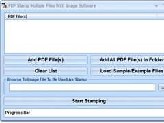 PDF Stamp Multiple Files With Image Software 7.0 Screenshot