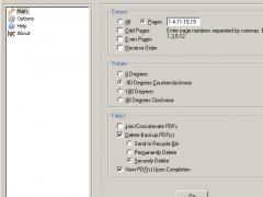 PDF Tools GUI 1.2.1 Screenshot