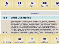 PDF Writer Offline 1.0 Screenshot