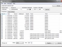 PDF2QFX 3.0.7.7 Screenshot
