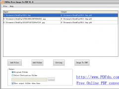 PDFdu Free Image To PDF Converter 1.9 Screenshot