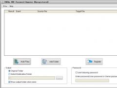PDFdu PDF Password Remover 2.3 Screenshot