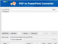 PDFFab PDF to PowerPoint Converter 9.0 Screenshot