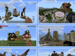 PE Maps: Minecraft PE Edition 1.0.2 Free Download