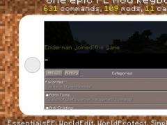 PE Mods - Custom Keyboard for Minecraft Pocket Edition 1.0 Screenshot