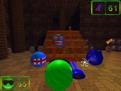 Pea-Guy: Defeating Dr. Robotica 1.0 Screenshot