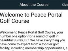 Peace Portal Golf Club 1.0 Screenshot