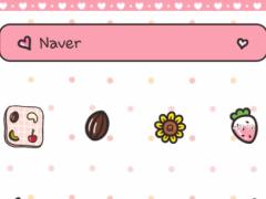 peach sweet dream dodol theme 4.1 Screenshot