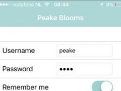Peake Blooms Webshop 16.3 Screenshot