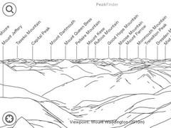 PeakFinder Canada West 3.2.7 Screenshot