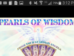 PEARLS OF WISDOM ANGEL CARDS  Screenshot
