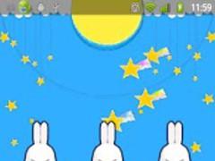 PecaRabbitLiveWallpaper 1.1 Screenshot