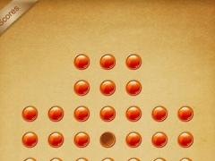 Peg Solitaire - BrainVita 1.0 Screenshot