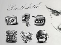 Pencil Sketch Theme 1.0.1 Screenshot