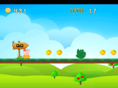 Pepa Pig Adventure Run 1.0 Screenshot