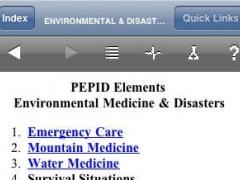 PEPID Elements: Environmental Medicine & Disasters 1.0.0 Screenshot