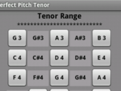 Perfect Pitch Tenor 2.5 Screenshot
