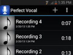 Perfect Vocal Free 1.18 Screenshot
