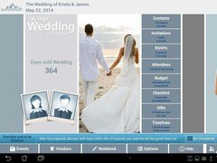 Perfect Wedding Planner Free 1.3 Screenshot