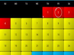 Period and Ovulation Calendar 1 Screenshot