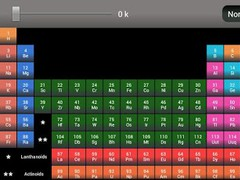 Periodic Table Reference 1.1 Screenshot