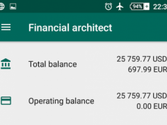 Financial Architect 1.5.29 Screenshot