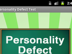Personality Defect Test 6.0 Screenshot