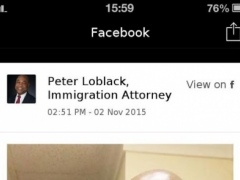 Peter Loblack Law Firm 1.1 Screenshot