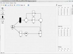Petri Net Editor  Screenshot