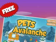 Pets Avalanche Mountain: Top Snowboarding Fun 1.0 Screenshot