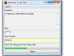 pfQuizzz 1.2 Screenshot