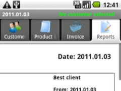 PGM-Invoice Best Client Report 1.0 Screenshot