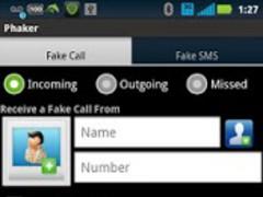 Phaker - Fake Call & SMS 1.1 Screenshot